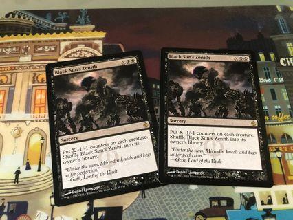 🚚 Magic The Gathering Cards - Black Sun's Zenith