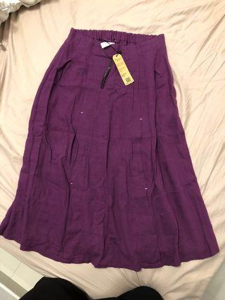 韓國紫色裙