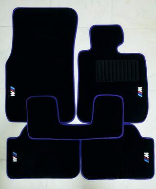 Ready Stock BMW 1 Series F20 Velvet Car Mats