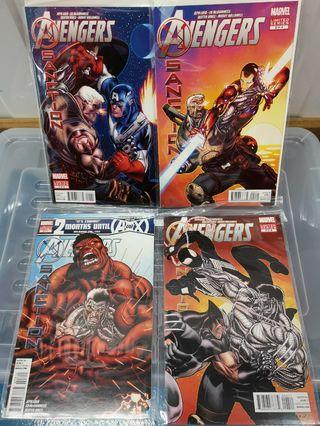 Avengers Xmen X sanction crossover Ed Mcguiness Marvel Comics