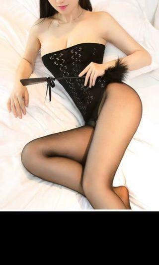 性感情趣内衣,宫廷复古風,全身丝质天鹅绒,連身絲袜