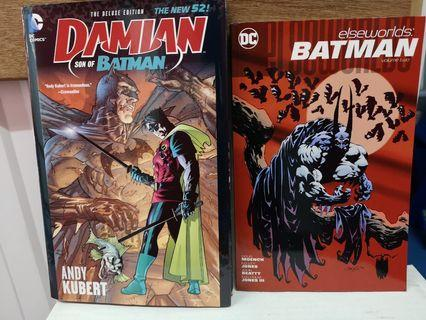 🚚 DC comics Damian Wayne Son of Batman and Batman Elseworlds