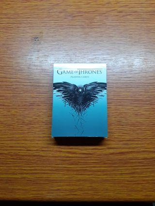 🚚 HBO Liscenced Game of Thrones Playing Cards