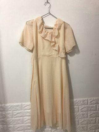 🚚 復古連身裙