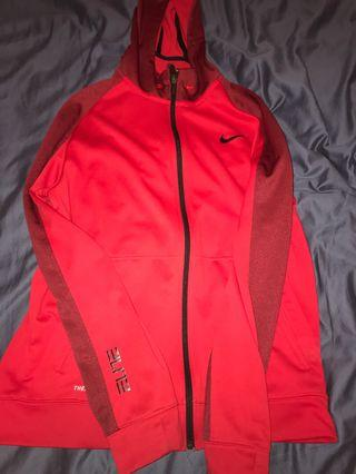 Red Nike Elite sweater