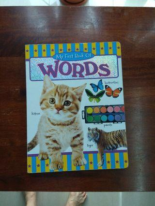 🚚 My 1st Book of Words -Board book for Toddler