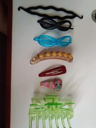 Different Hair Accessories