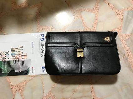 Thai Airways Leather sling bag