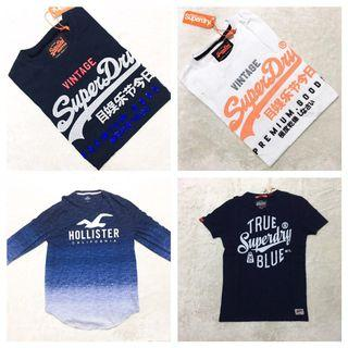 Great Variety ! Tees for Sales