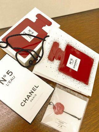 CHANEL N°5 L'eau Eau de Toilette Red Limited Edition 100ml 清新晨露女淡香限量紅瓶