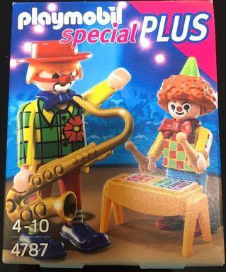 全新 Playmobil Special Plus 4787 Clowns 小丑藝術家