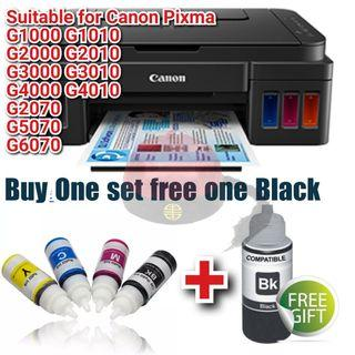 GI-790 Refill Ink Kit for Canon PIXMA G1000 G2000 G3000 G4000 Printer Series