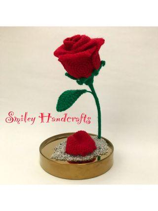 玫瑰花 鈎冷 手作 永生花