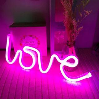 LED Text LOVE