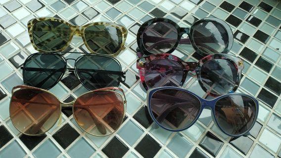 🚚 太陽眼鏡 6支500含運