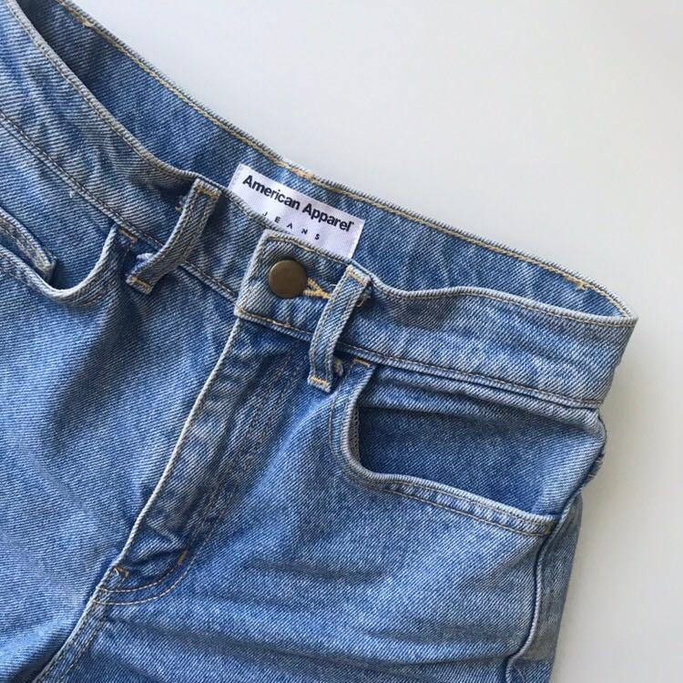$100 American Apparel high-waisted shorts size 24 (XS)