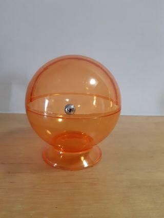 🚚 $10 for 2 pieces of orange/red acrylic candy dome