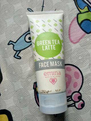#mauthr Emina Green Tea Latte Face Mask