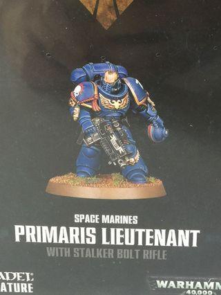 Warhammer - Space Marine Primaris Leutenant 特別版