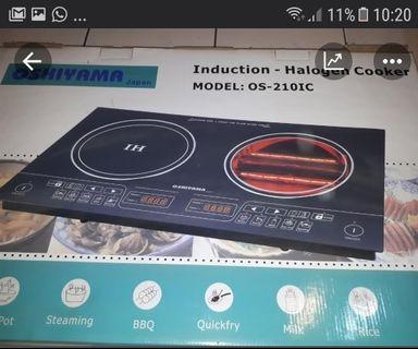 Induction Halogen Cooker