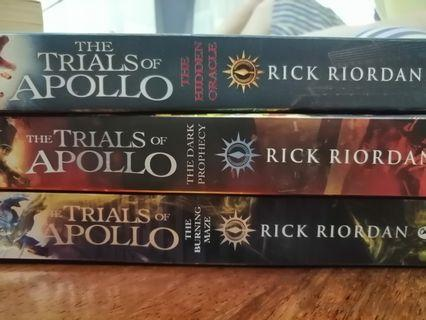Trials of Apollo series
