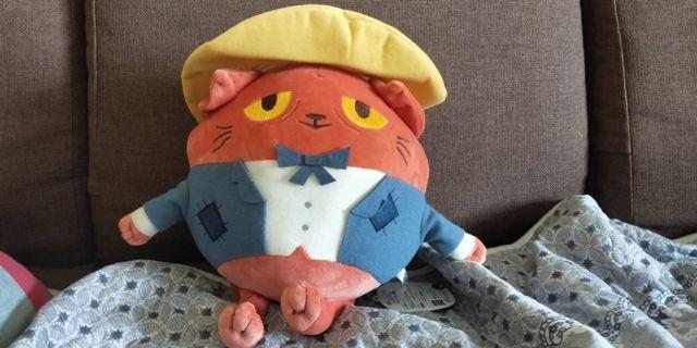 Cat plushie