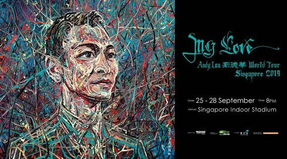 (WTB) 25 or 27 Sep / CAT 1 Section 111 / Andy Lau 2019 SG Concert