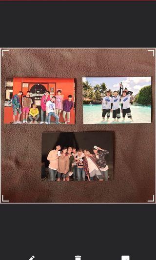 iKON Summertime Polaroid/Photo