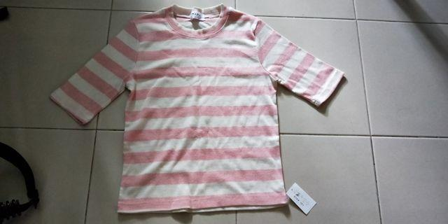 🚚 Pink Striped Top