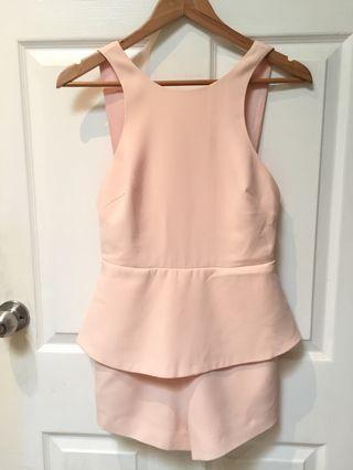 Finders Keepers Pink Playsuit