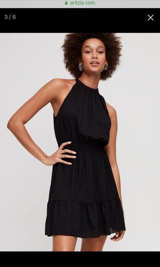 Aritzia Wilfred Dress Black New Medium