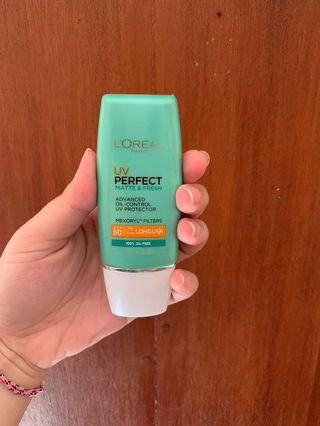 L'Oreal UV Perfect Matte & Fresh