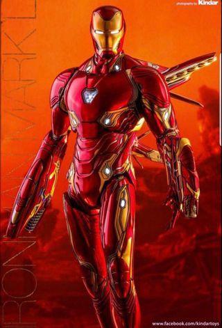 全新啡盒未開 hottoys Ironman mark 50 L tony iron man hot toys mms473