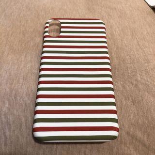 iPhone X 條紋 手機殼 保護殼