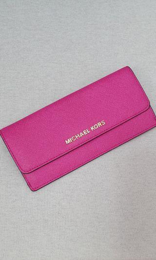 Michael Kors Pink Slim Wallet