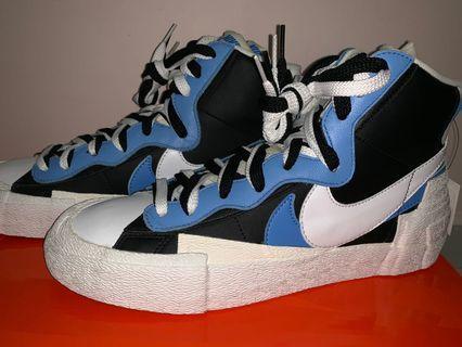 🚚 Nike Sacai Blazer Blue US 10