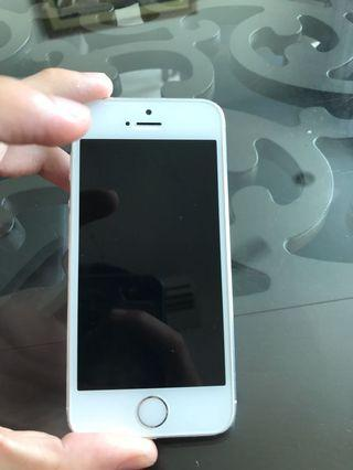 iPhone 5 16g silver condition 8/10