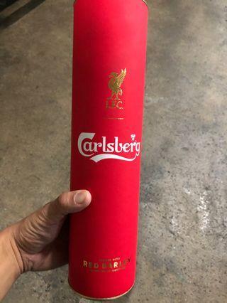 利物浦 嘉士伯限量紅色啤酒