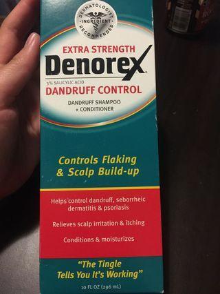 Denorex dandruff control