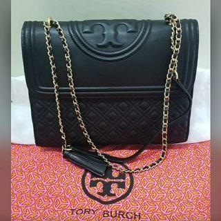 Tory Burch Fleming Bag Size 27 Premium Mirror, bagus banget
