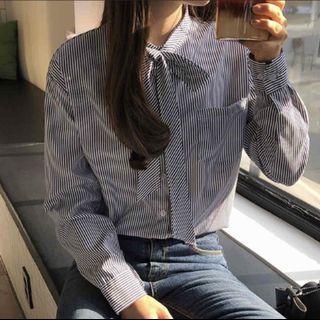 🚚 正韓條紋襯衫
