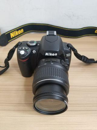 Nikon dslr new condition, connect with mobile, full set