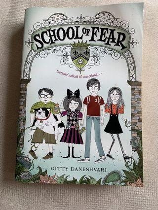 School of Fear 小朋友英文故事書