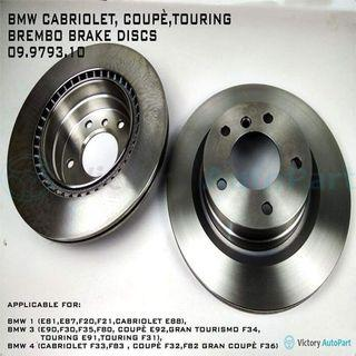 BMW CABRIOLET COUPE, TOURING BREMBO BRAKE DISCS 09.9793.10