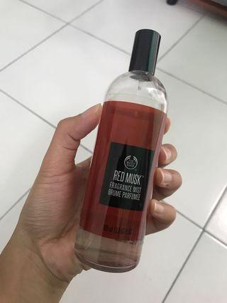 THE BODY SHOP RED MUSK PARFUME