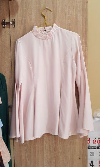 Flare top pink