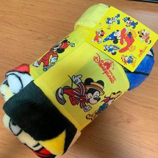 New Disneyland Mickey Mouse Blanket