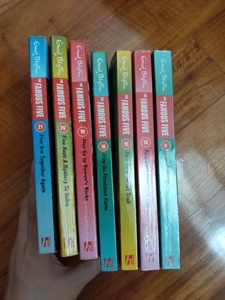 Famous Five, Enid Blyton