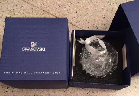 Swarovski Christmas Ball Ornament 2015