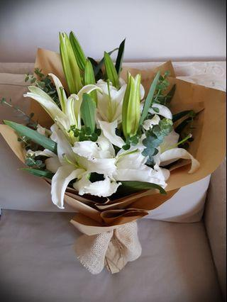 Flower Bouquet, Lilies